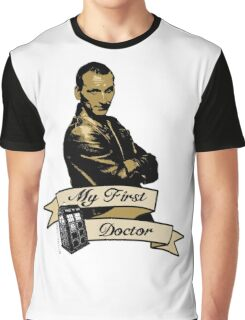 Doctor Who - My first Doctor (Who) Ninth 9th Christopher Eccleston Graphic T-Shirt