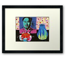 Mao's pincushion Framed Print