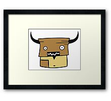 DigiDoodles: Fred Bull Framed Print