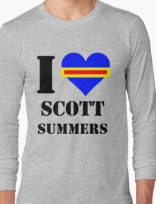 I Love / Heart Scott Summers Long Sleeve T-Shirt