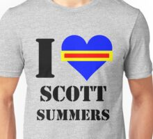 I Love / Heart Scott Summers Unisex T-Shirt
