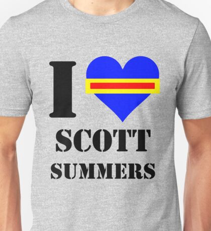 I Love / Heart Scott Summers Unisex T-Shirt