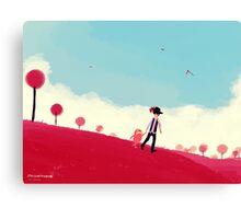 Let's Go Home Canvas Print