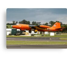 Canberra B.2 99+34 taking off at Fairford Canvas Print