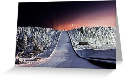 Olympic Ski Jump - Ruka, Finland/Lapland by Adam Carra