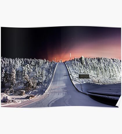 Olympic Ski Jump - Ruka, Finland/Lapland Poster