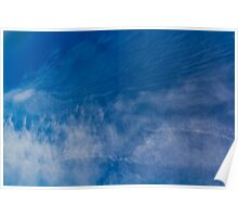 Flowing clouds Poster