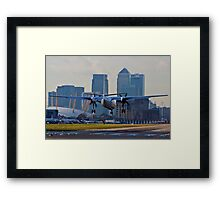 London City Airport Framed Print