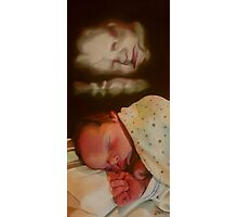 BABY BOY BENJAMIN Photographic Print