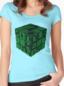 Riddle's Cube Women's Fitted Scoop T-Shirt