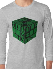 Riddle's Cube Long Sleeve T-Shirt