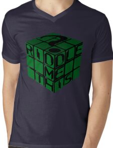 Riddle's Cube Mens V-Neck T-Shirt