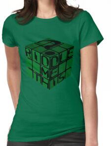 Riddle's Cube Womens Fitted T-Shirt