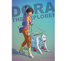 Dora the explorer BADASS Photographic Print