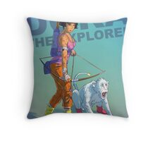 Dora the explorer BADASS Throw Pillow