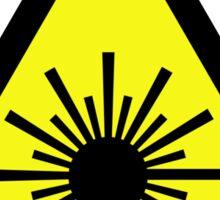 Laser_Radiation Sticker