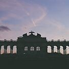 sunset at the gloriette II by andrea-ioana