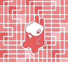 Cube Animals: The rabbit by digitalstoff