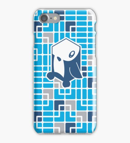 Cube Animals: The penguin iPhone Case/Skin