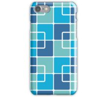 Mazes and patterns: squares iPhone Case/Skin