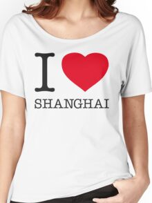 I ♥ SHANGHAI Women's Relaxed Fit T-Shirt