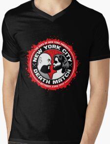 NYC Death Match Mens V-Neck T-Shirt