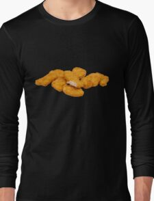 Chicken Nuggets Long Sleeve T-Shirt