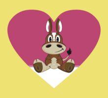 Cartoon Valentine Horse Kids Clothes