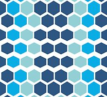 Mazes and patterns: rhombus by digitalstoff