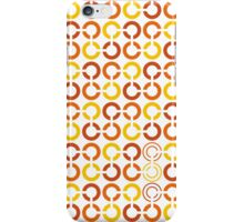 Mazes and patterns: rings iPhone Case/Skin