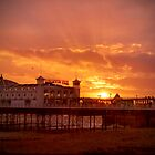 Big Sky - Brighton Pier - HDR by Colin J Williams Photography