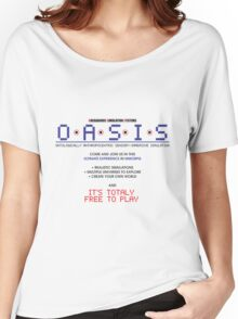 OASIS Ad Women's Relaxed Fit T-Shirt