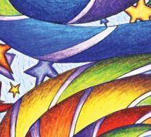Stars N Stripes Mandala Sticker