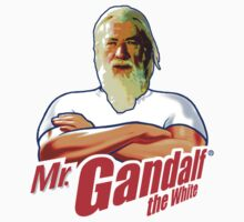 Mister Gandalf the White by Phosphorus Golden Design