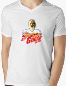 Mister Gandalf the White Mens V-Neck T-Shirt