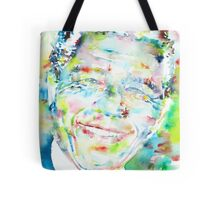 NELSON MANDELA - watercolor portrait Tote Bag