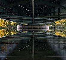 ipad bridge mirror by Steve Björklund