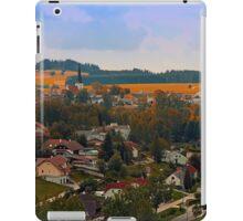 Beautiful village skyline | landscape photography iPad Case/Skin