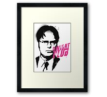 Dwight Club Framed Print