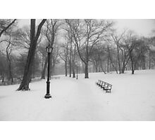 A Cold Seat Photographic Print