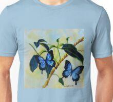 Dancing Butterflies colour pencils and pens Unisex T-Shirt