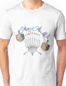 Happy Hanukkah Unisex T-Shirt