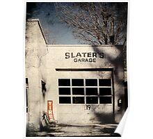 Slaters Garage Poster