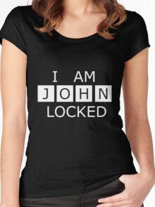 I AM JOHN LOCKED Women's Fitted Scoop T-Shirt