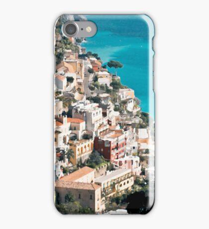 Italy. Amalfi Upside iPhone Case/Skin