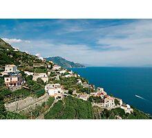Italy. Amalfi Coastline Photographic Print
