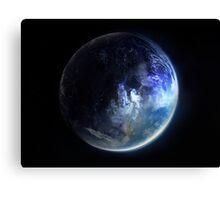 Aquamarine Marble Canvas Print