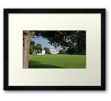 Meadow in front of the palace Framed Print