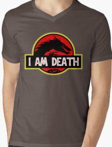 Smaug - I Am Death T-Shirt Mens V-Neck T-Shirt