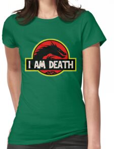 Smaug - I Am Death T-Shirt Womens Fitted T-Shirt